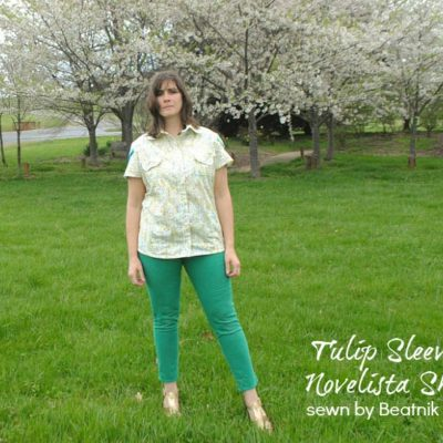 Novelista Shirt with Beatnik Kids – Blank Slate Sewing Team