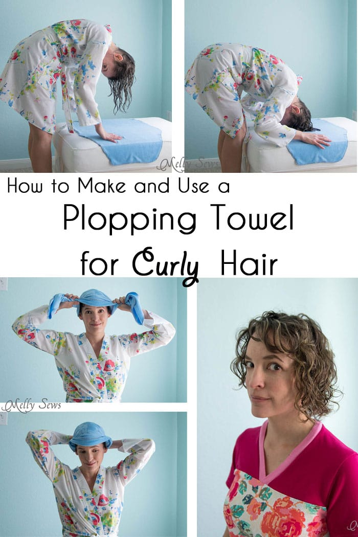 Plopping Towel For Curly Hair Melly Sews