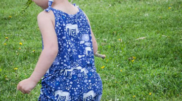 Retro Romper with Sew a Straight Line – Blank Slate Sewing Team