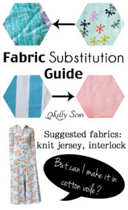 Can You Switch Knit Fabric for Woven or Substitute Woven Fabric for Knit? A Guide by Melly Sews