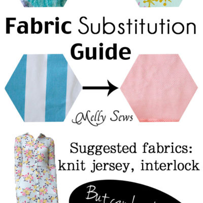 Fabric Substitutions – Can I Sew a Pattern for Knit with Woven Fabric?