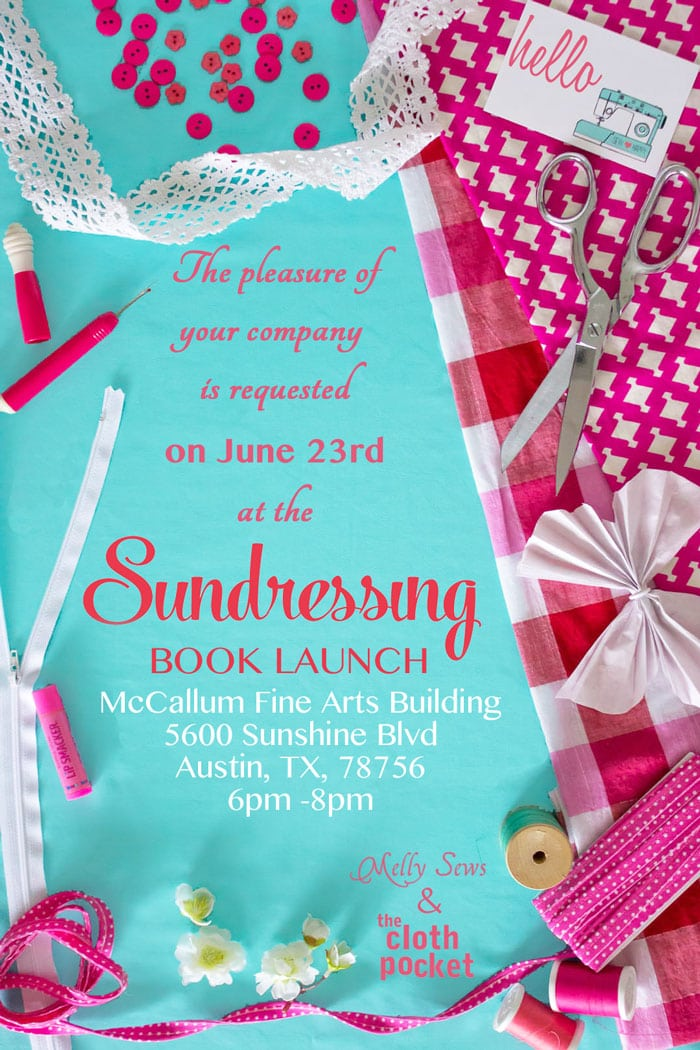 Sundressing Book Launch Party - Melly Sews