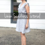 Linen Sundress Tutorial