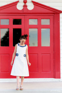 Littlefield Dress from the book Sundressing by Melissa Mora sewn by Sugar Bee Crafts for (30) Days of Sundresses - Melly Sews