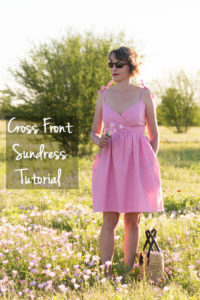 The Laguna Dress - Bonus Dress for the book Sundressing by Melissa Mora - Sew a Women's Cross front sundress - (30) Days of Sundresses - Melly Sews