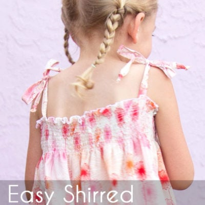 Easy Shirred Dress Tutorial