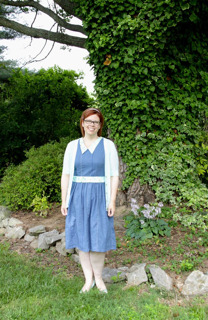 Parlin Dress from Sundressing by Melissa Mora sewn by Flamingo Toes for Melly Sews (30) Days of Sundresses