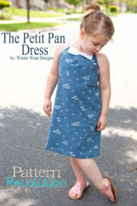 Petit Pan Dress by Pattern REvolution for Melly Sews (30) Days of Sundresses - Free Pattern and Tutorial!