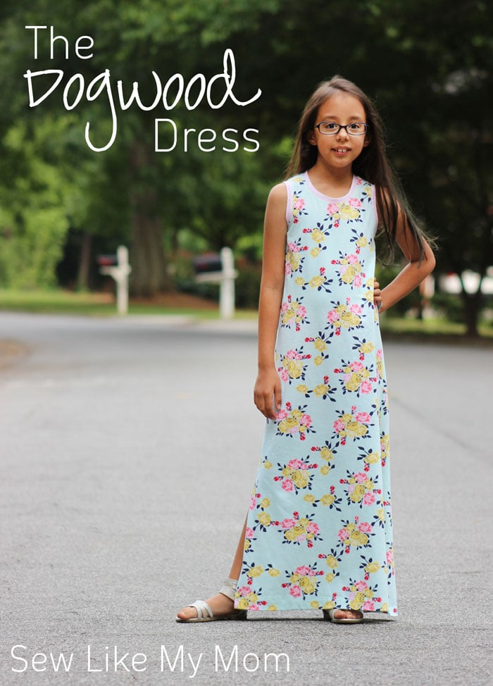Dogwood Dress by Sew Like My Mom for Melly Sews (30) Days of Sundresses