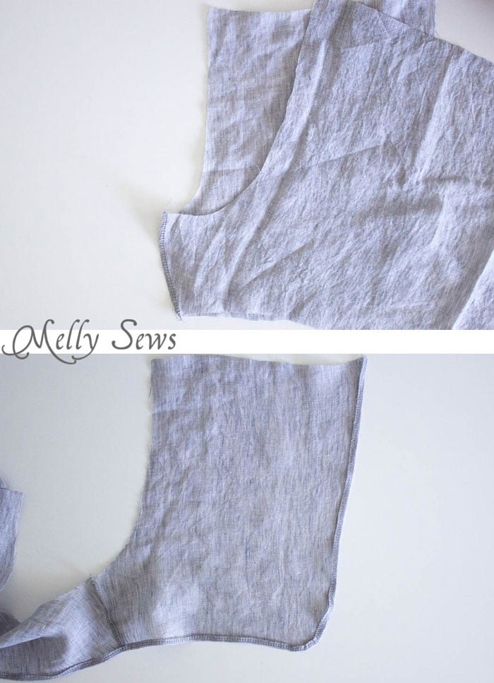 Step 1 - Sew these DIY shorts with a free pattern from Melly Sews