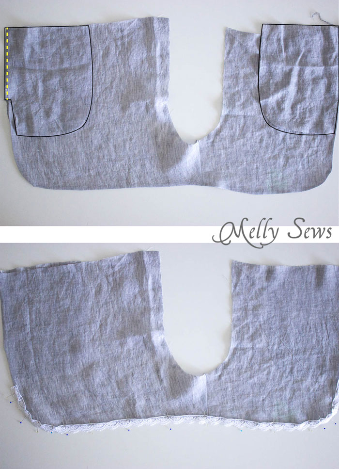Step 2 - Sew these DIY shorts with a free pattern from Melly Sews