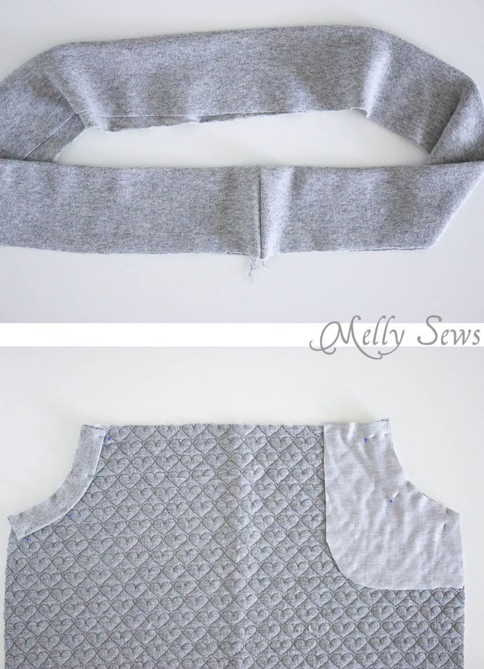 Step 3 - Pencil Skirt Tutorial - sew a simple pencil skirt with pockets with this easy DIY tutorial from Melly Sews