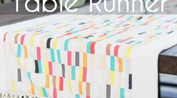 Boho Fringe Table Runner – Boardwalk Delight Blog Party