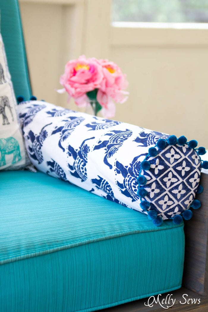 Stupendous How To Sew A Bolster Pillow Melly Sews Ocoug Best Dining Table And Chair Ideas Images Ocougorg
