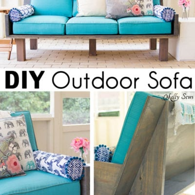 Plywood Couch – Build a DIY Outdoor Sofa