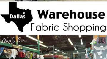 Fabric Warehouse Shopping in Dallas