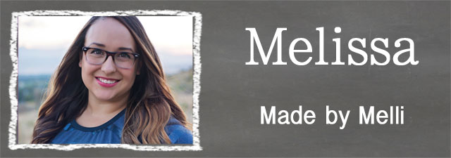 Melissa of Made by Melli