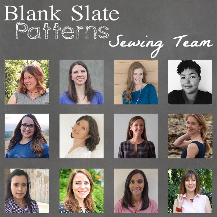 Blank Slate Patterns Sewing Team 2016-2017