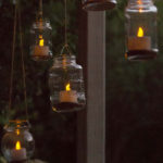 Hanging Solar Tea Lights