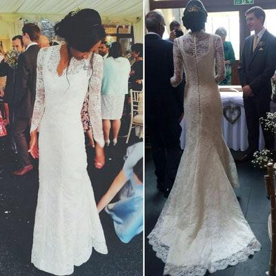 Wedding Dress by _ym.sews_