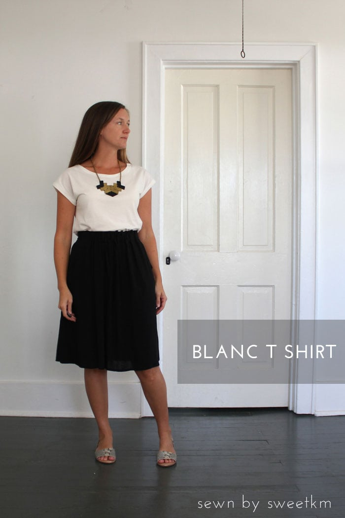 blanc t-shirt sewing pattern by blank slate patterns sewn by sweetkm