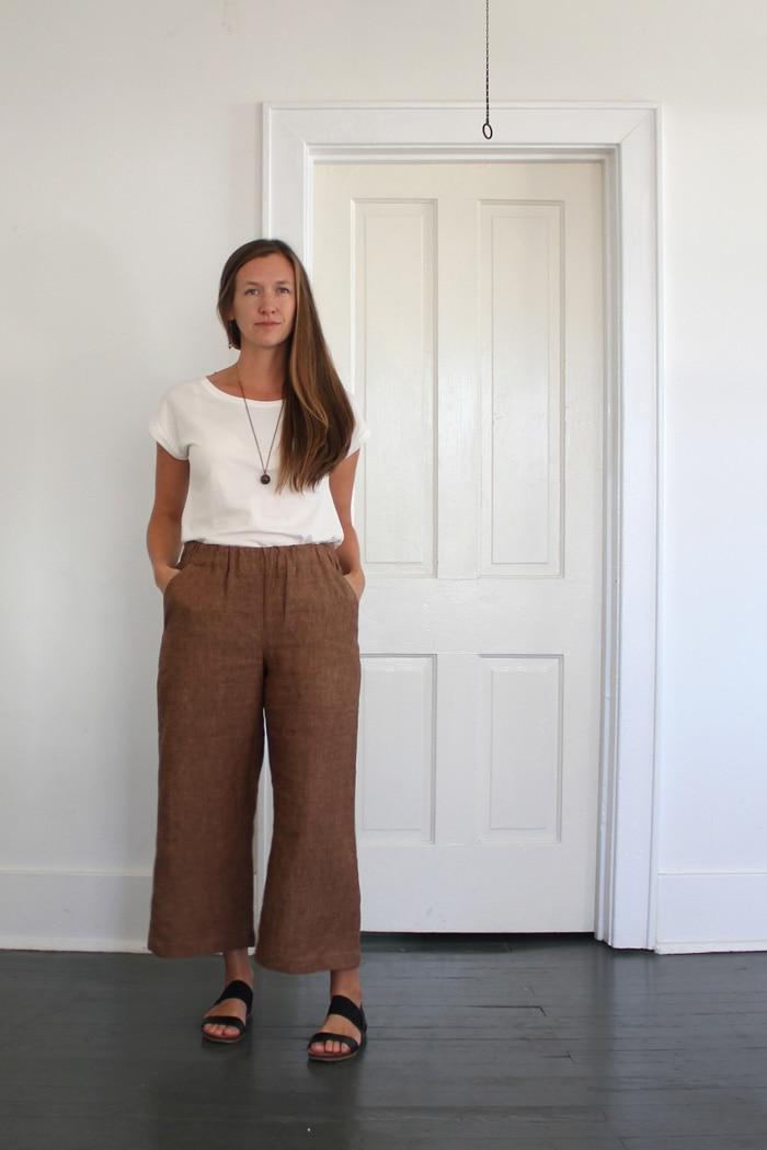 blanc t shirt sewing pattern by blank slate pattern sewn by sweetkm