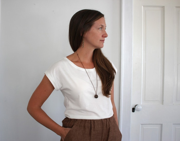 blank t shirt by blank slate patterns sewn by sweetkm