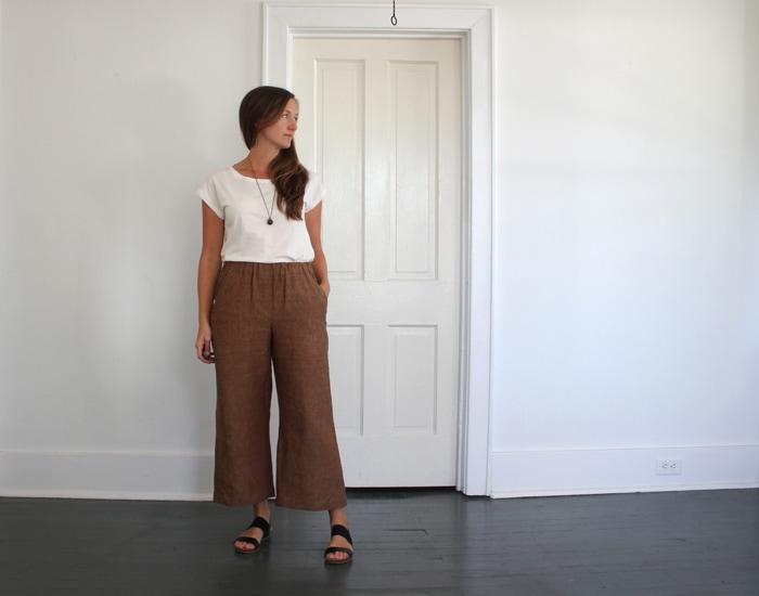 Blanc t shirt sewing pattern by blank slate patterns sewn by sweetkm