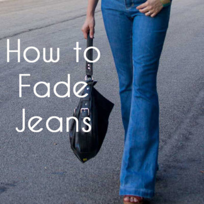 How to Fade Jeans – Jean-ious Ideas