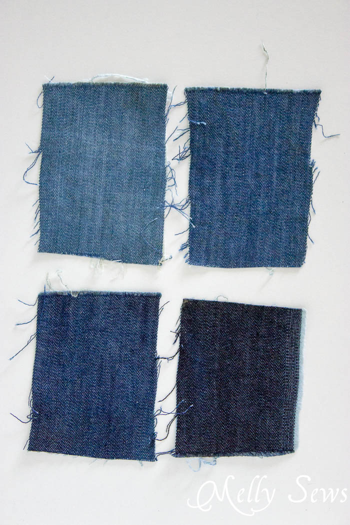 How to Fade Your Jeans - Melly Sews