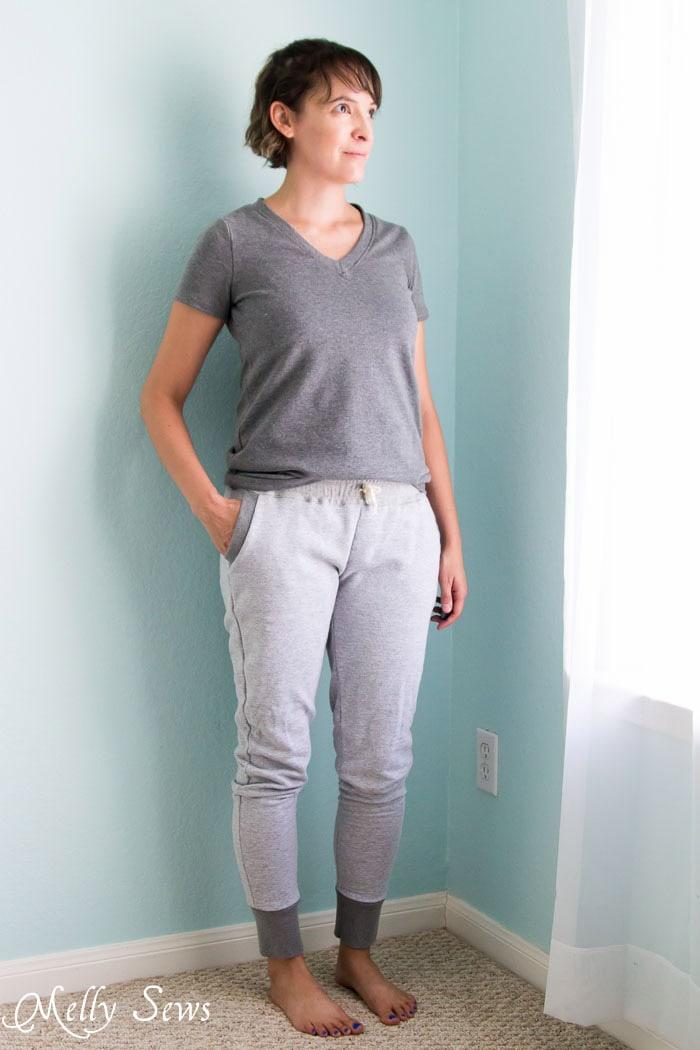 Sew Sweatpants - Hudson Pants sewn by Melly Sews
