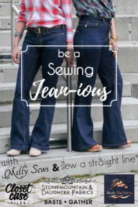 Be a sewing Jeanious - Sew jeans for yourself - HUGE round up of resources and tutorials - Melly Sews