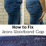 Fix Jeans Waistband Gap – Jean-ious Ideas