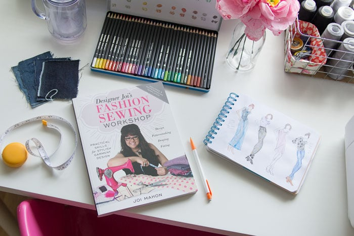 Designer Joi's Fashion Sewing Workshop reviewed by Melly Sews