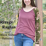 Rivage Raglan with Paisley Roots