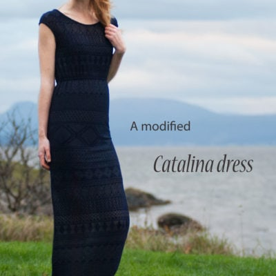 Catalina Dress with Sew Mariefleur