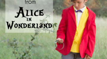 White Rabbit Costume – Alice in Wonderland DIY