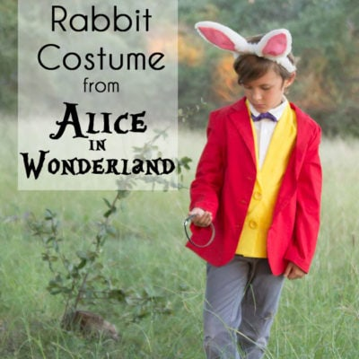 White Rabbit Costume – Alice in Wonderland DIY