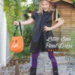 Little Bow Pleat Dress with SewSophieLynn