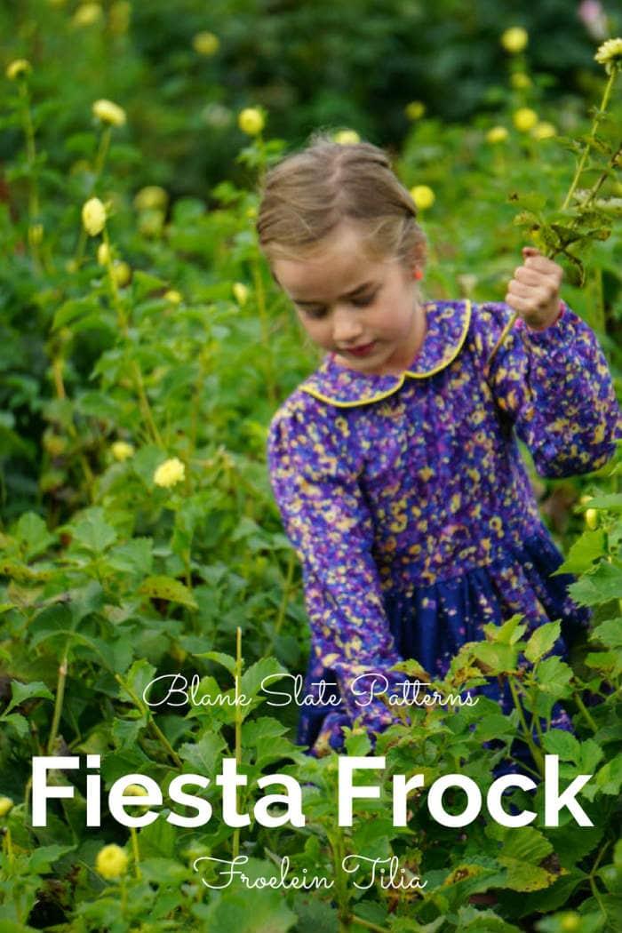 Fiesta Frock by Blank Slate Patterns sewn by Froelein Tilia