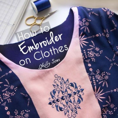 How to Embroider Clothes