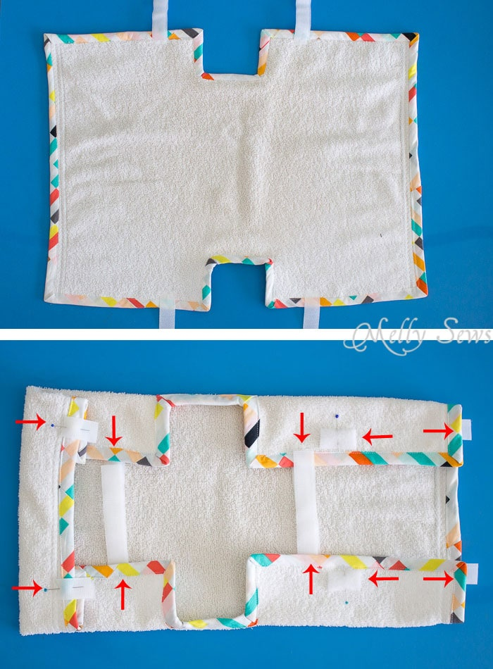 Bathtub Book Cover - a Buy + DIY Gift to Sew - Melly Sews