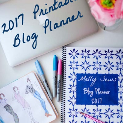 Free Printable Planner Pages – 2017 Blog Planner