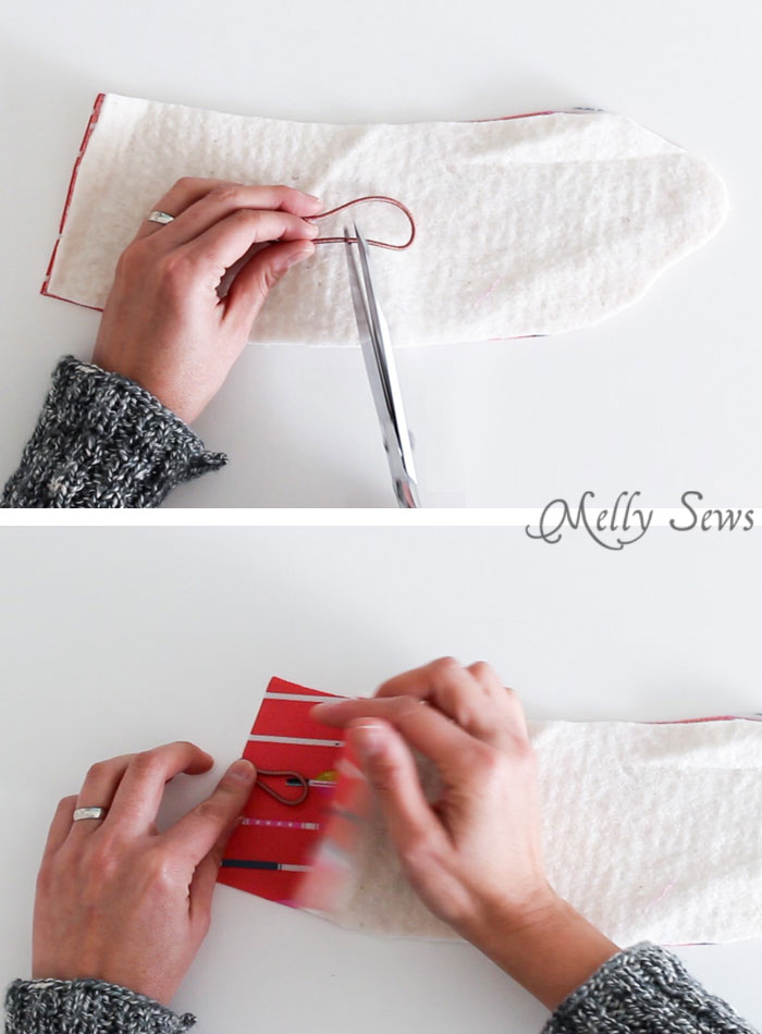 Step 1 - Sew a Coffee Cozy with this free pattern and tutorial + video from Melly Sews