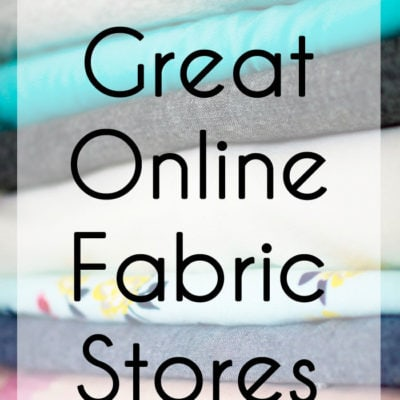 Great Online Fabric Stores – And What To Buy at Each
