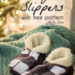 Sew Slippers – Free Pattern and Video Tutorial