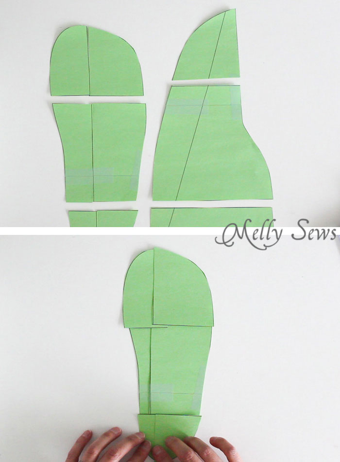picture relating to Free Printable Fleece Sock Pattern identified as Sew Slippers - Absolutely free Behavior and Online video Guideline - Melly Sews