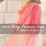 Top Tutorials 2016 – #5 Fairy Princess Cape