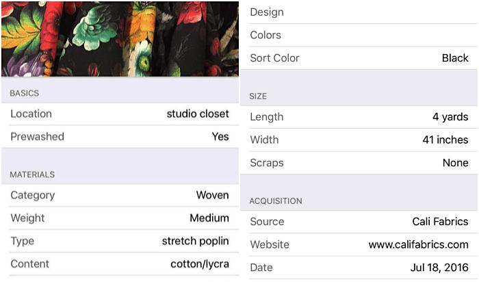 Sewing Studio Organization - ways to keep a neat fabric stash - Melly Sews