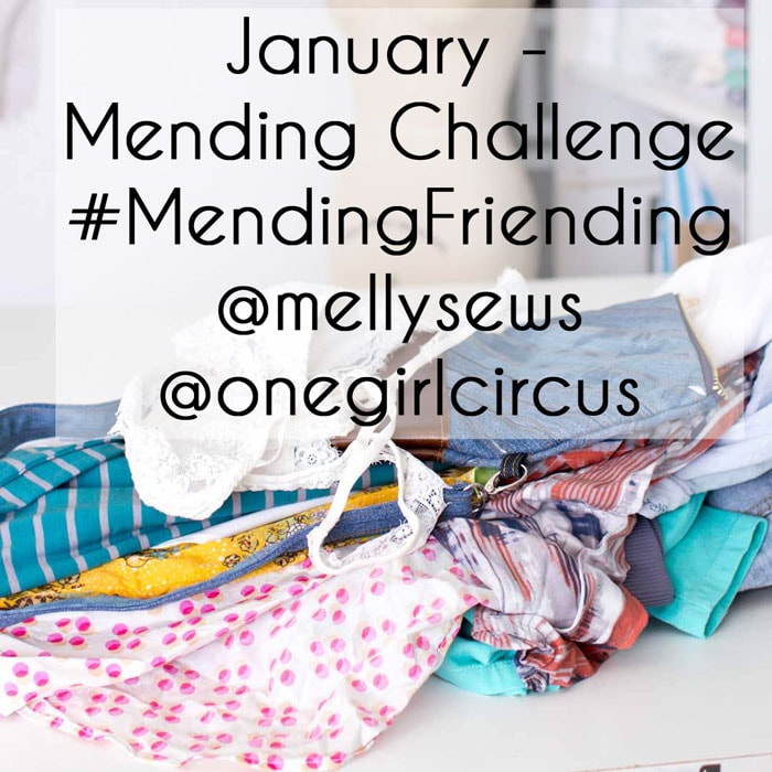 #MendingFriending Challenge - January 2017